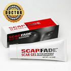 Scarfade silicone scar gel for scar removal