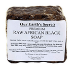 Our Earth's Secrets Raw African Black Soap