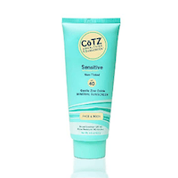 Cotz Spf 40 UVB:UVA Sunscreen for Sensitive Skin, 3.5 Ounce (Packaging may vary)