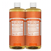 Dr. Bronner's 18-IN-1 Hemp Tea Tree Pure-Castile Soap, Tea Tree Oil, 32 Ounce, Pack of # 2