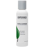 Exposed Skin Care Facial Cleanser Acne Treatment Step 1 – Complete Breakout Eliminating Face Wash for Teens:Adults