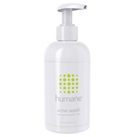 Humane Face & Body Acne Wash, 10% Benzoyl Peroxide Acne Treatment, Dermatologist Tested,