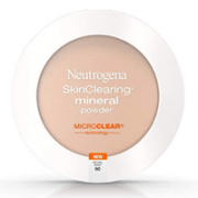 Neutrogena SkinClearing Mineral Acne-Concealing Pressed Powder Compact, Shine-Free & Oil