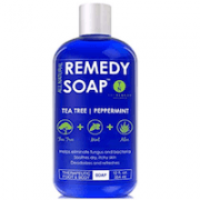 Remedy Soap Tea Tree Oil Body Wash, Helps Body Odor, Athlete's Foot, Jock Itch, Ringworm,