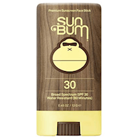 Sun Bum Premium Sunscreen Face Stick SPF 30 | Reef Friendly Broad Spectrum UVA : UVB Protection