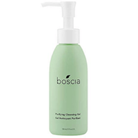 boscia Purifying Cleansing Gel – Daily Natural Purifying Deep Cleansing Gel Face Cleanser, 5 fl oz